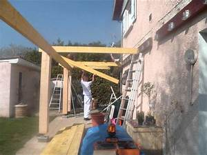 Comment Faire Une Pergola : construction pergola youtube ~ Dode.kayakingforconservation.com Idées de Décoration