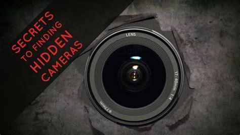 secrets  finding hidden cameras techlicious