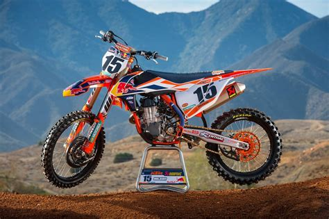 red motocross photos le team red bull ktm factory us 2016 motocross