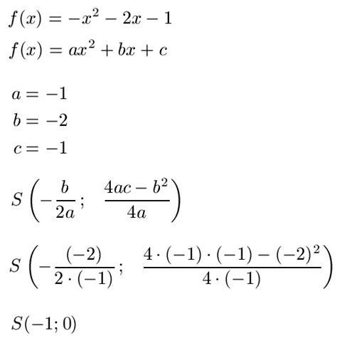 scheitelpunkt berechnen ablesen formel und parabel