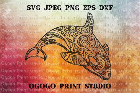 Download free orca mandala svg svg here. Killer Whale SVG, Orca svg, Zentangle SVG, Sea animal SVG