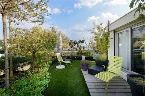 Appartement Duplex Suresnes  Contemporain  Terrasse En