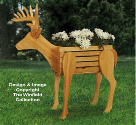planter woodworking plans deer planter woodworking pattern