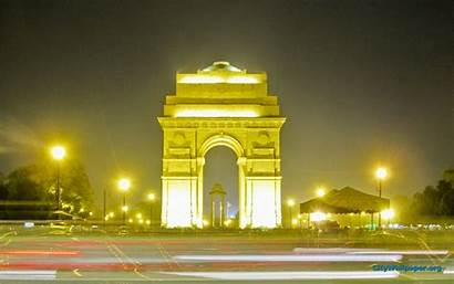 India Wallpapers Gate Indian Delhi Attractive Places
