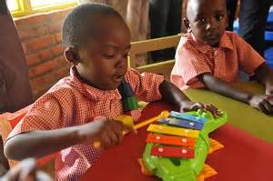 children reached  early childhood development