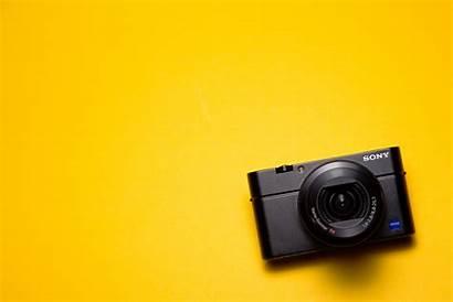 Plain Background Camera Rx Grey Colorful Sony