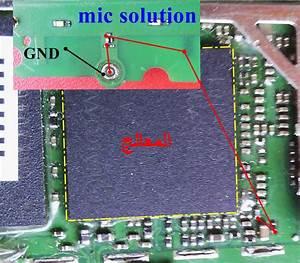 Micromax X1i Mic Solution Diagram