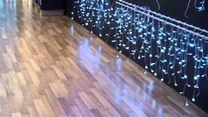 Guirlande Lumineuse Exterieur Professionnel : guirlande stalactites clignotantes led blanc froid youtube ~ Teatrodelosmanantiales.com Idées de Décoration