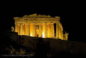 Pictures of Greece - Acropolis-0036 - the Parthenon at night