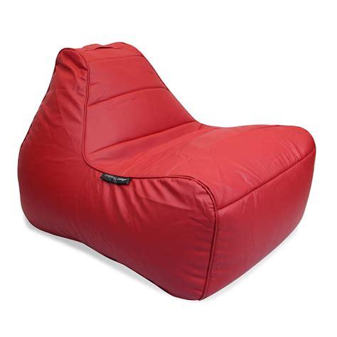 Mode Red Lounger Bean Bag Chair  Tivoli Lounger Bean Bag