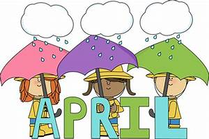 Month of April Showers Clip Art - Month of April Showers Image