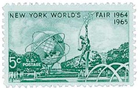 1964 5c New York World's Fair for sale at Mystic Stamp Company