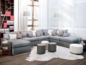 Hellgraue Sofas  Komfortable Polstermöbel