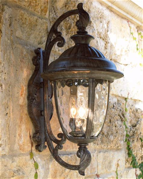 quot park quot lantern traditional outdoor wall lights