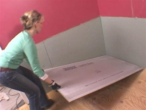 Putting In A Shower Pan by How To Lay A Subfloor How Tos Diy