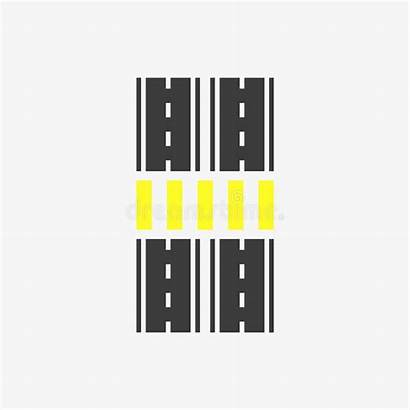 Crosswalk Icon Symbol
