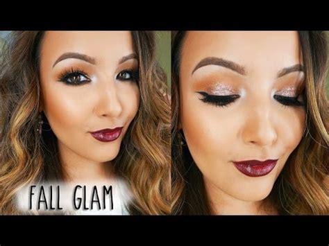Fall Glam Makeup Tutorial ♡ Youtube