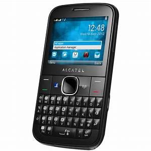 Alcatel One Touch 815D Noir