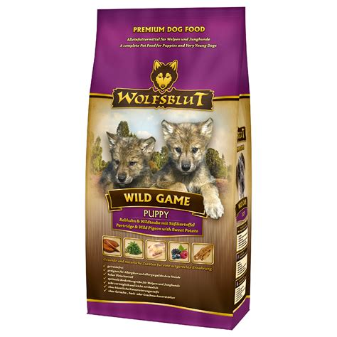 wolfsblut trockenfutter wild game hundefutter fuer welpen