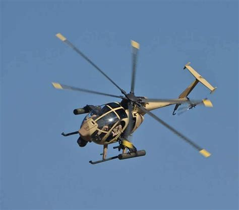 The Ah-6 Is A Highly Capable Light Attack / Armed