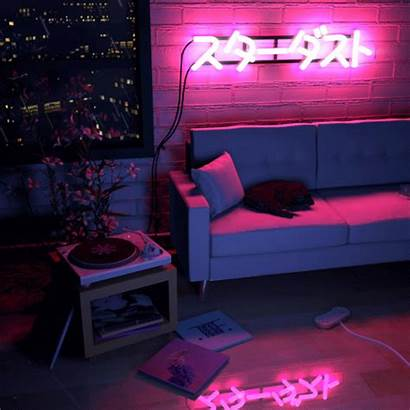 Neon Aesthetic Bedroom Cyberpunk Rooms Uploaded