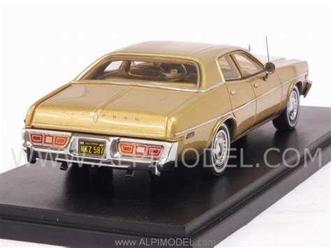 neo Plymouth Fury 1977 (Gold) (1/43 scale model)