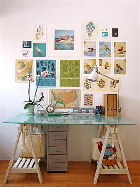 le bureau ales le plateau de bureau en verre pour votre office à la maison