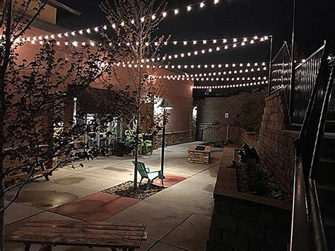 String Patio Lights by G50 Patio String Lights With 25 Clear Globe