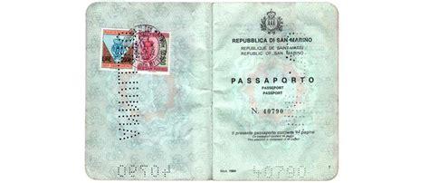 Ufficio Passaporti San Marino passaporto san marino rilascio passaporto ordinario