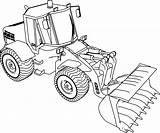 Coloring Bulldozer Jcb Ladle 135b Wecoloringpage sketch template
