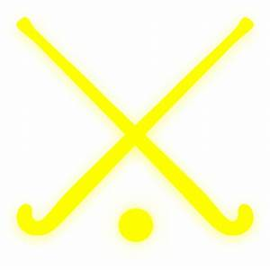 Gold Field Hockey Sticks Clip Art at Clker.com - vector ...