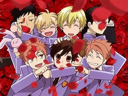 Host Ouran Club Ristorante Paradiso Flowers Anime