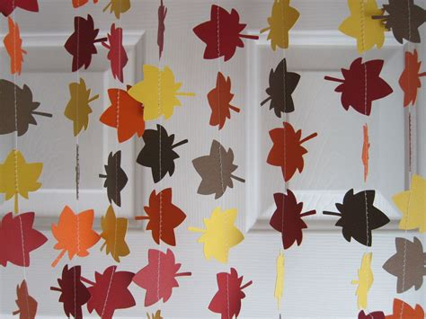 Fall Garland Leave Garland Autumn Decorations