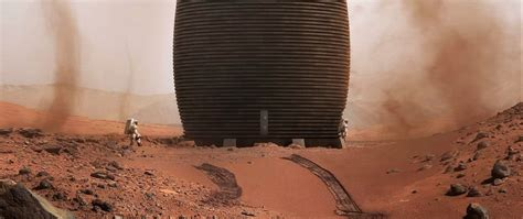 printed mars habitat    perfect fit  early