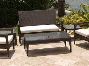 strict outdoor rattan coffee table with glass top With glass top patio coffee table