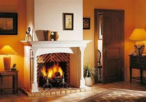 Cheminée En Brique : cheminee brique infos et prix d une chemin e en brique ~ Farleysfitness.com Idées de Décoration