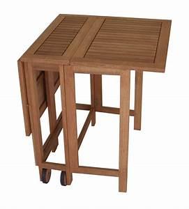 Tisch Rollen Klappbar : doppel klappentisch klapptisch 107x65cm eukalyptus mit rollen fsc zertifiz ebay ~ Markanthonyermac.com Haus und Dekorationen
