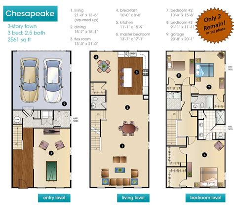story floor plans  story  modern house  story