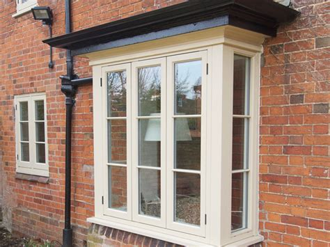double glazed wooden timber casement windows leamington