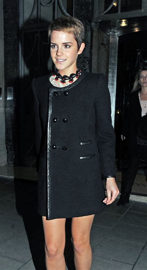 Pictures of Emma Watson in London Before Harry Potter and ...