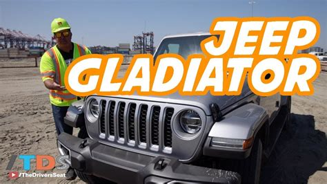 jeep gladiator pickup truck review youtube