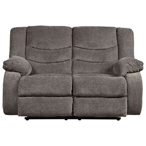 Contemporary Reclining Loveseat by Signature Design By Tulen 9860686 Contemporary