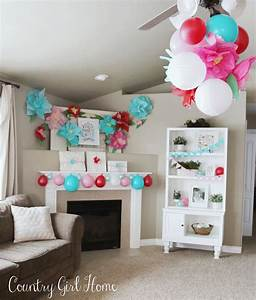 COUNTRY GIRL HOME : 2nd Birthday Flower Party