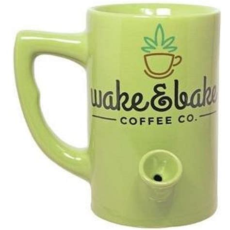 Frequent special offers and discounts up to 70% off for all products! Wake & Bake Mug | 2-in-1 Pipe and Coffee Mug