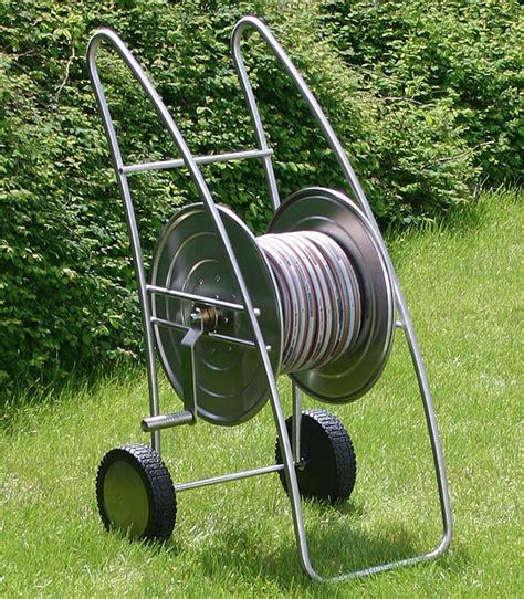 Heibi Gartenwasser Schlauchwagen 53244072 Edelstahl Art