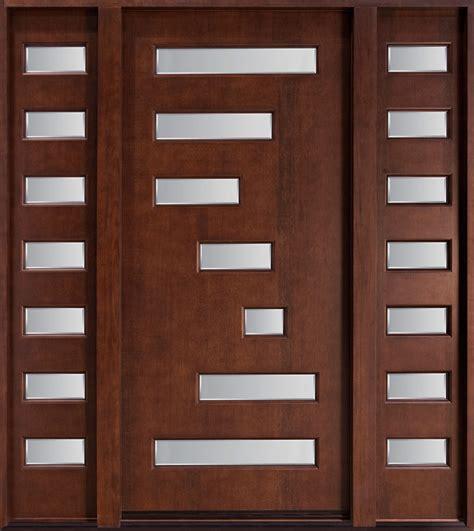 cheap entry doors fleurdelis arch mahogany prehung wood door unit with
