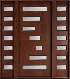 Front Door Solid Wood Transitional Collection Single