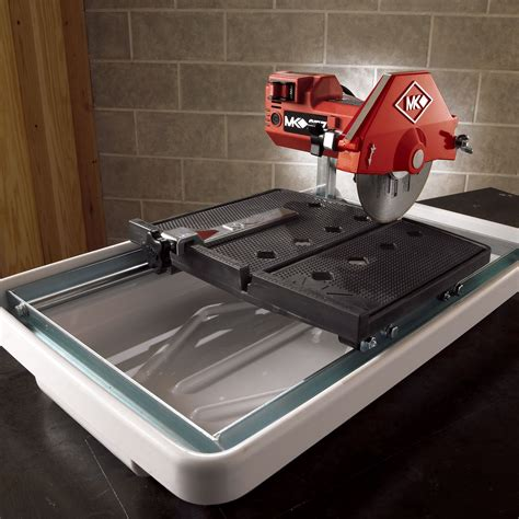 mk diamond 1 3 hp 7 quot wet cutting tile saw mk 377 tools