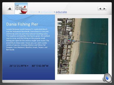 fishing piers florida pier dania