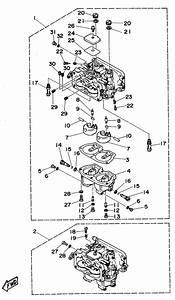 1994 Yamaha Carburetor Parts For 115 Hp C115tlrs Outboard